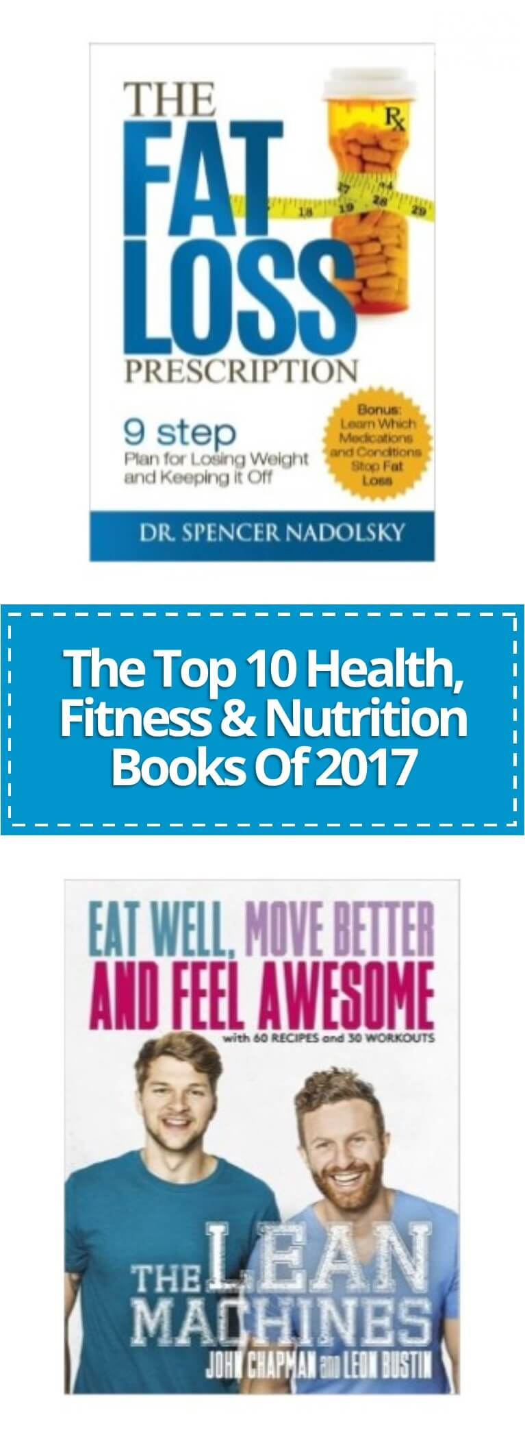 In this article we've listed our favourite fitness and nutrition books of 2017.